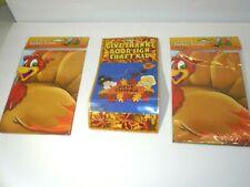 Thanksgiving Foam Door Sign Craft Kit & Pin Tail on Turkey Toy Game New Lot