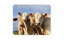 Lindo conjunto de vacas Mouse Mat Pad-Vaca Animales Granja Granjero Regalo Pc #8249