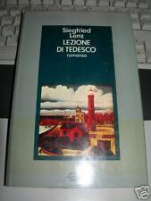 LENZ,Sigfried. LEZIONE DI TEDESCO 1^ ed