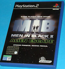 Men in Black 2 - Alien Escape - Sony Playstation 2 PS2 - PAL