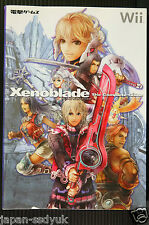 JAPAN Xenoblade Chronicles book: Xenoblade The Complete Guide Book