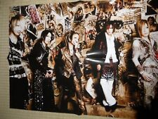 the GazettE PSC Visual-Kei POSTER JapanLimited!!!!!!