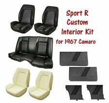 Custom Sport R Package for 1967 Camaro - Upholstery, Seat Foam and Door Panels