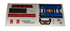 G1 Soundwave Complete Sticker Decal Sheet