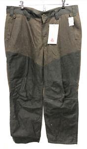 LL Bean Men's Double L Waxed-Cotton Upland Briar Pants 36 x 29