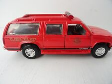 Road Champs * St. Louis Fire Dept Investigation Unit* Chevrolet Suburban 1995~