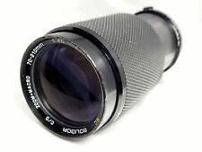 Soligor 70-210mm f4.5 OM lens manual focus for Olympus
