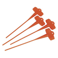 AK391 Sealey Applicator Nozzle Stopper Pack of 4 [Caulking Guns]