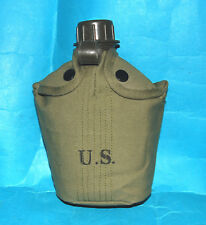 US ARMY STYLE M1956 VIETNAM GREEN POUCH WITH WATER BOTTLE (A).
