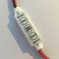 LED STRIP LIGHT DIMMER 12V 3528 5050 ON/OFF FLASH FADE SPEED STRIPLIGHT CARAVAN