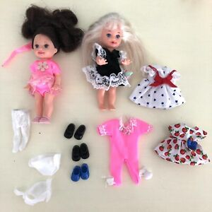 Vintage kelly Doll Clothes Shoes Lot Of 14 Mint!