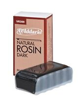 D'Addario Natural DARK violin viola cello rosin for horsehair or synthetic bows