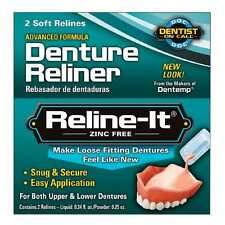 D.O.C. Reline-It  Denture Reline Kit - 2 Repairs/Count