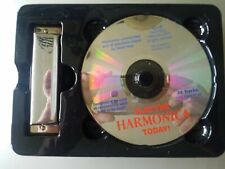 How to Play the Harmonica Book and Kit Mud Puddle 2018 New sealed w/ Music Cd