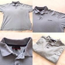Pierre Cardin Polo Shirt baby Blue Mens Short Sleeve Size 2XL 100% Cotton VGC