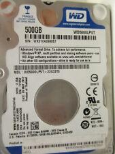 Western Digital 500 gb WD 5000 lpvt - 22g33t0 DCM: hacvjabb 09may2012 x184 disco duro