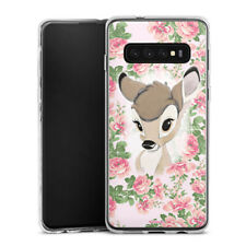 Samsung Galaxy S10 Plus Silikon Hülle Case - Bambi Flower Child