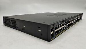 Cisco Catalyst ES-C2960-X 48 Port 10G PoE+ 740W Rackmount Network Switch