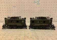 N.J. Custom Models O Scale Brass 2 Rail PRR Electric Locomotive Class B-1