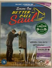 Better Call Saul Season One (Blu Ray) New And Sealed SLIPCOVER