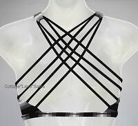 NEW LULULEMON Free To Be Bra Wild 10 Capilano Stripe Black White Sports FREESHIP
