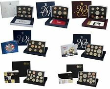 ROYAL MINT FLAT DELUXE PROOF SETS 2000 TO 2016 CHOICE OF DATE