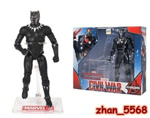 ZD TOYS Marvel Captain America: Civil War Black Panther Action Figure New In Box