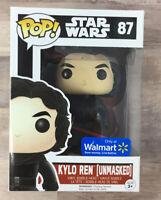 Funko POP! Star Wars Kylo Ren (Unmasked) #87 Vinyl Figure Walmart A05