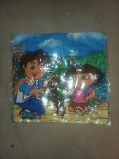 2 new Dora and Diego zippered pillow cases