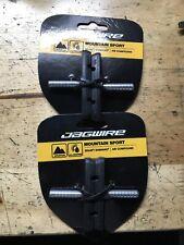 2x Jagwire Mountain Sport Bicycle Brake Pads Bike Smallooth Post 70mm Pad Black