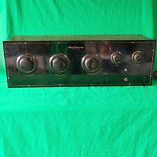 Vintage Freed Eisemann Nr-7 Radio with Bakelite Front Panel !