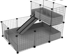 C&C Rabbit And Guinea Pig Stackable Cage
