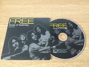 Promotional cd album - Free – Songs of Yesterday Box set Sampler (12 tracks)