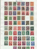 germany stamps ref 12053