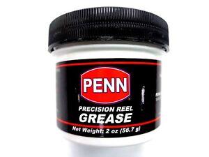 PENN Precision Reel Grease 2OZGSESD12 - 2 Oz Jar - for Gears Spool Shafts Drag