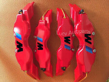 4 Pcs Universal Red Disc Brake Caliper Cover Fit BMW M 3 Size 17 18 inch wheels