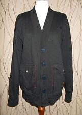 Herrenjacke G-Star RAW Gr. L schwarz Strickjacke Männer Übergang getragen