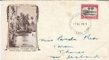 G 568 Western Samoa First Day Cover 7 August 1935