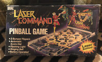 Vintage 80s Pinball game Laser Command Table Top Pinball Game Tested Works ideal