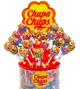 Chupa Chups Cremosa Lollipops 60 Count Assortment Creamy Flavors