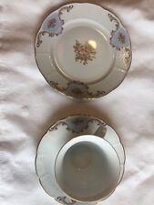 Bone China  Plate ,cup And Saucer TK Thun Czechoslovakia