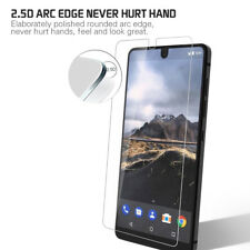 2x Essential Phone Clear Tempered Glass Screen Protector Shield anti-explosion