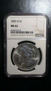1883 O Morgan Silver Dollar NGC MS62 UNCIRCULATED $1 COIN Starts At 99 Cents!