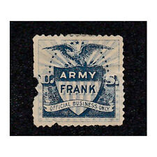 US Army Frank Stamp  - 1890's  - B9438