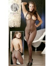 Mandy Mystery Line Net-catsuit Black S-l - Bodystocking & Catsuit
