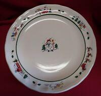 Pfaltzgraff Snow Village Dinner Plates Set Of 4