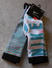 Nike Youth Performance Cotton Cushioned Over The Calf Sock 2 Pair Size 5Y-7Y