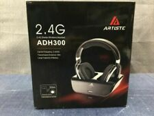Artiste 2.4 GHZ Wireless Headset ADH300 works up to 30 meters High Cap Battery