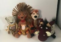 Disney Presents The Lion King The Broadway Musical Pumbaa Nala Timon Souvenirs