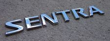 Nissan Sentra emblem badge letters trunk lid logo rear OEM Factory Genuine Stock